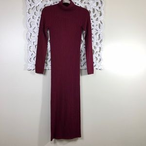 ASOS Dresses - ASOS Red Turtleneck Sweater Dress Size 0